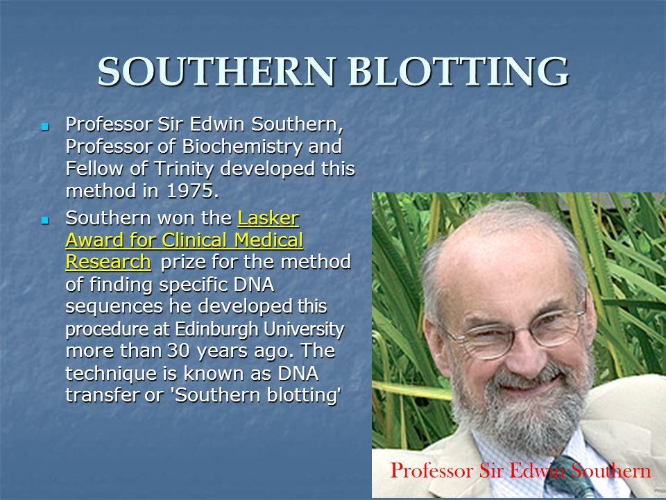 Professor Sir Edwin Southern