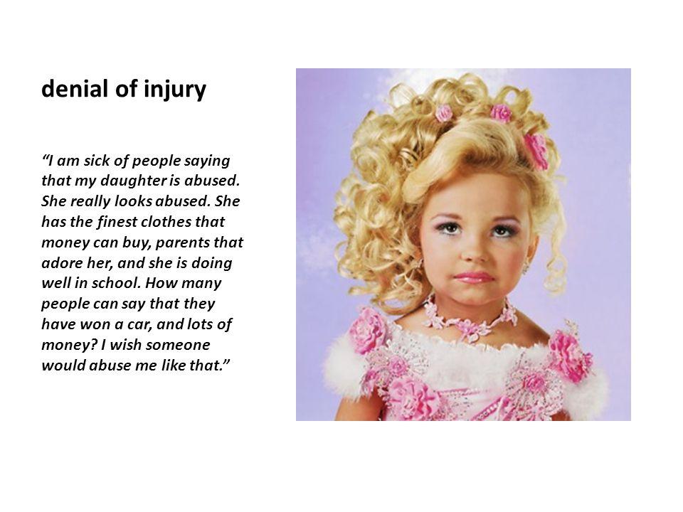 denial of injury