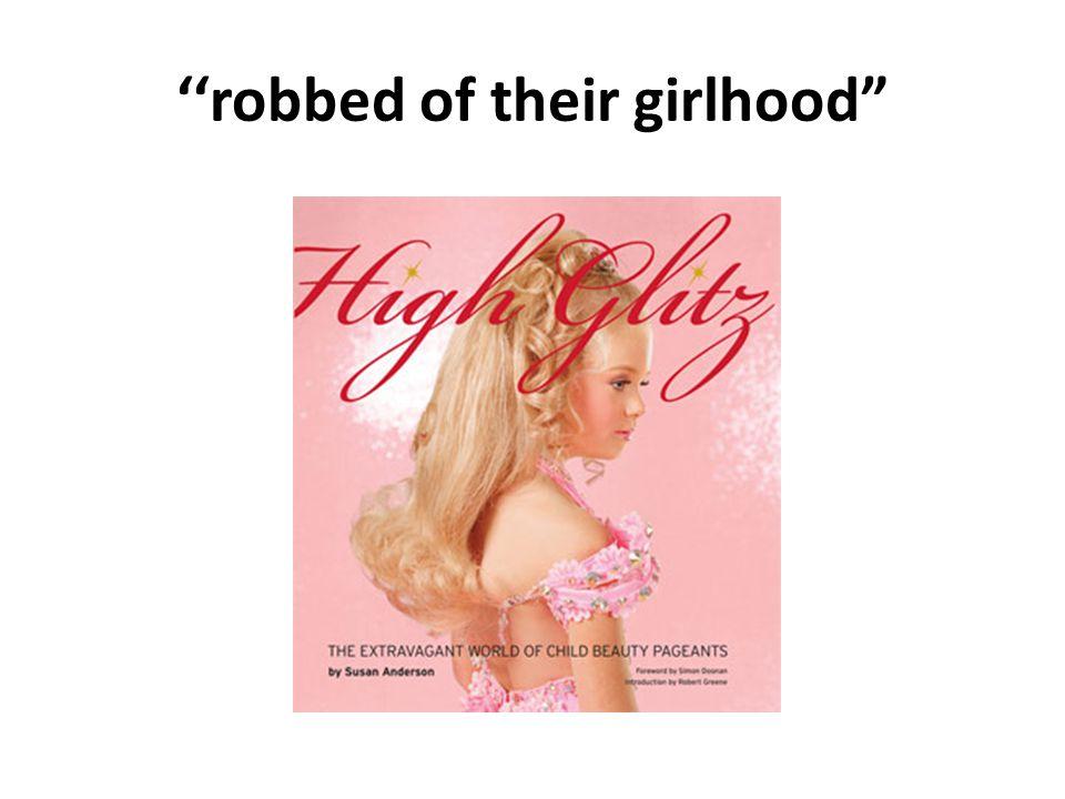 ''robbed of their girlhood