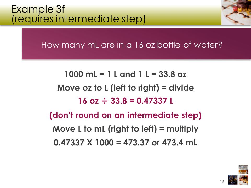 Example 3f (requires intermediate step)