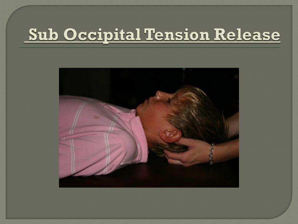 Sub Occipital Tension Release