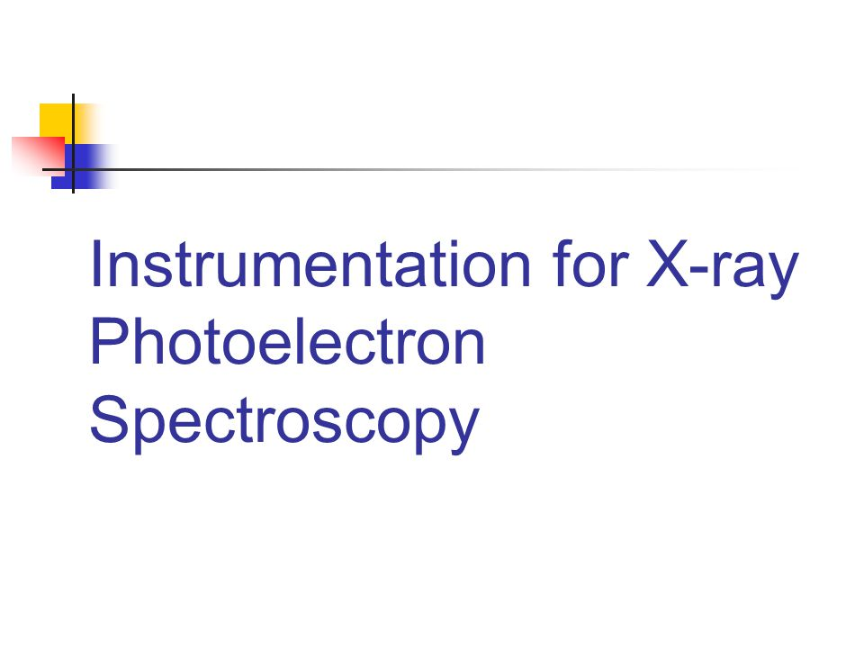 Instrumentation for X-ray Photoelectron Spectroscopy