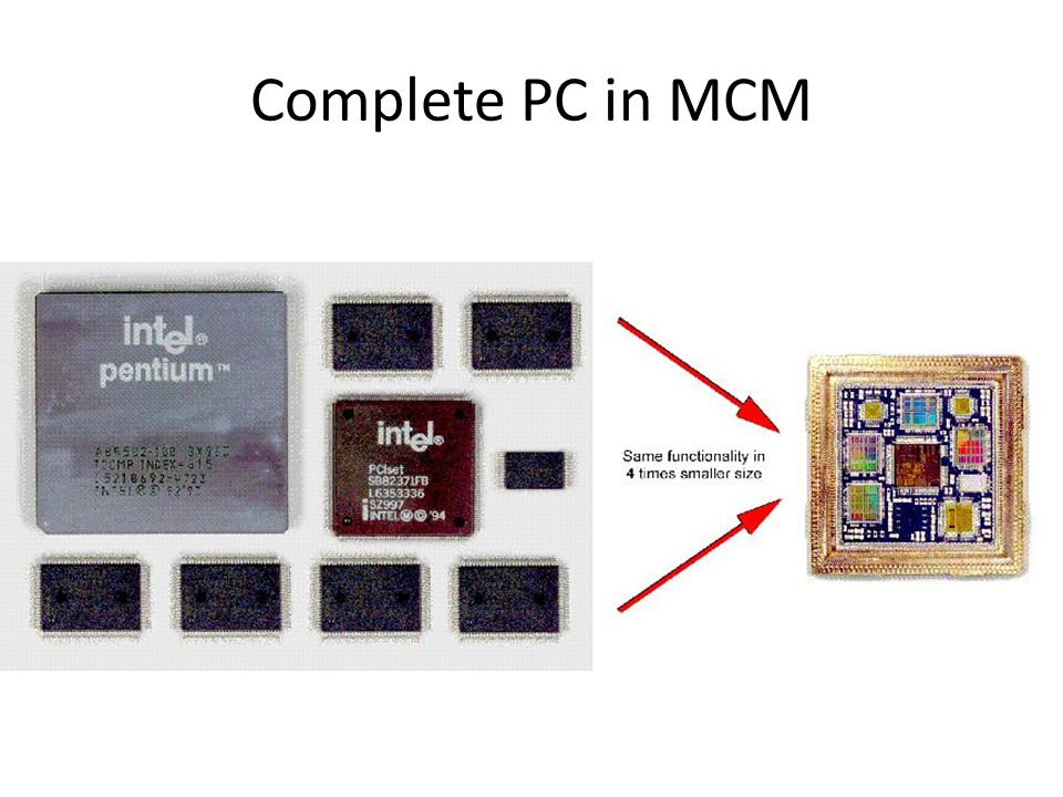 Complete PC in MCM