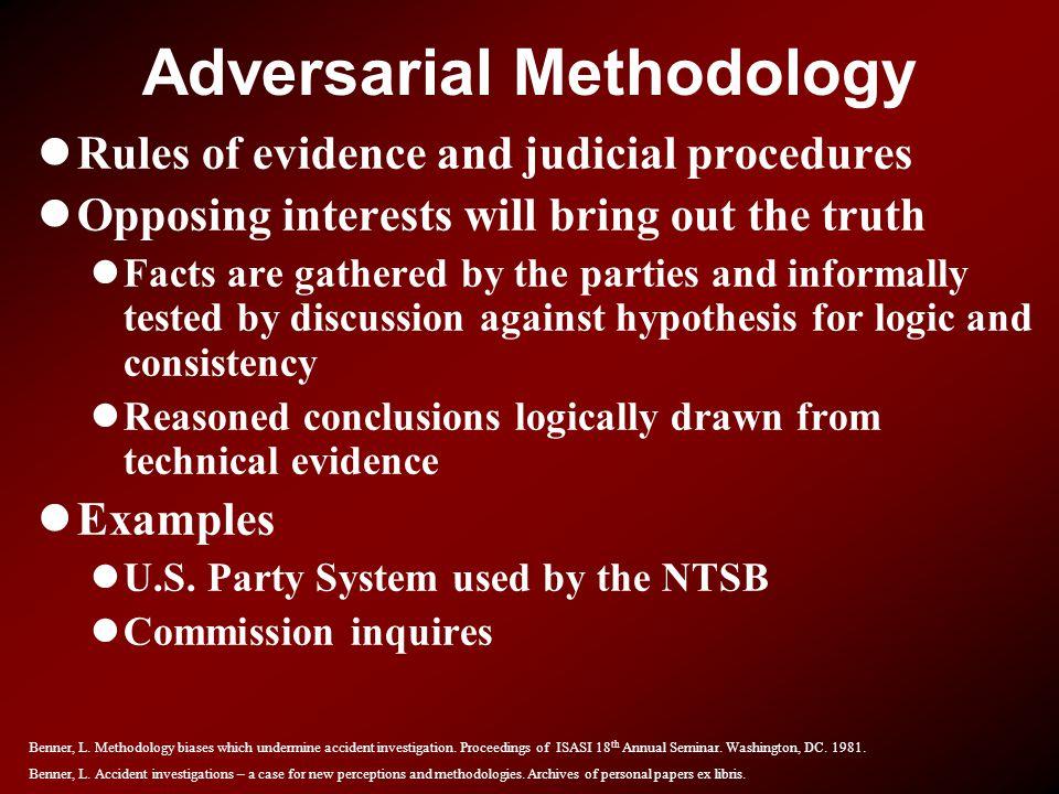 Adversarial Methodology