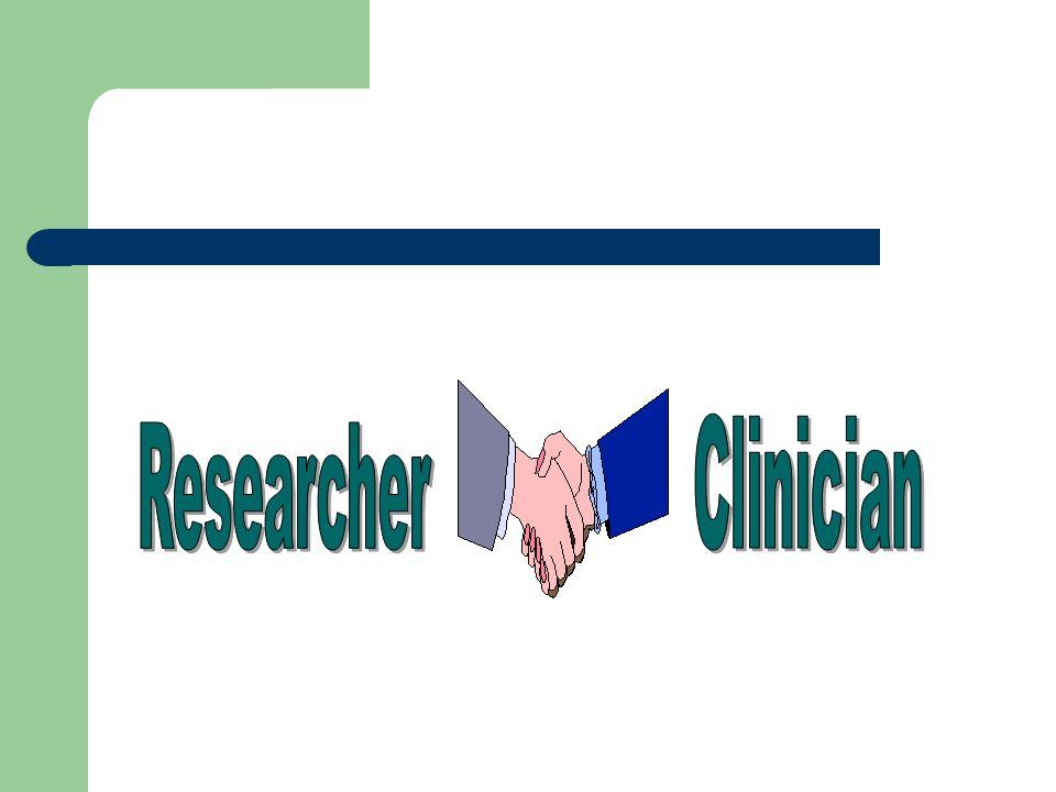 Clinician Researcher