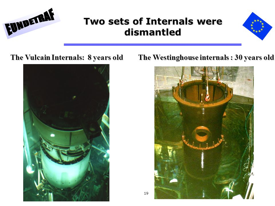 Two sets of Internals were dismantled