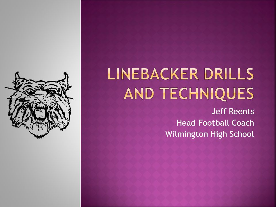 Linebacker Drills and Techniques