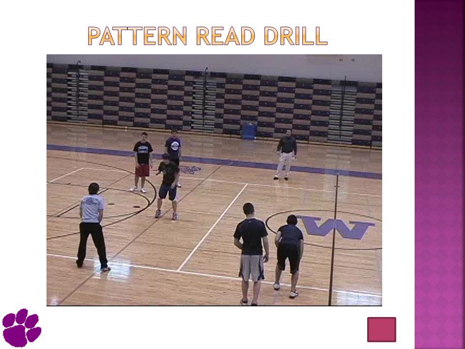 Pattern read drill
