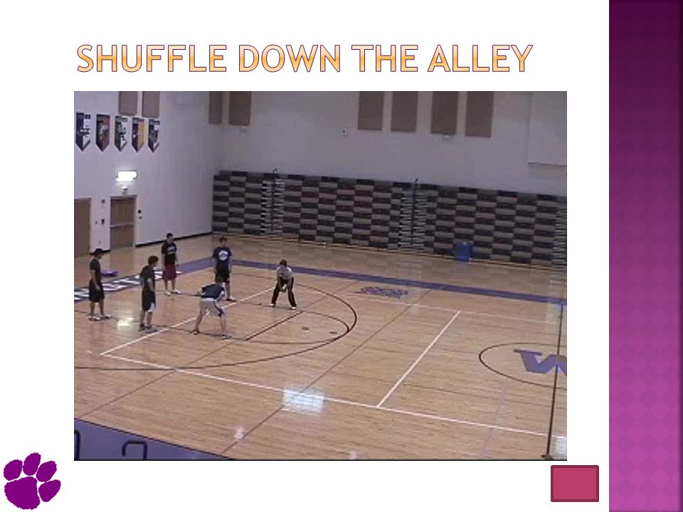 Shuffle down the alley