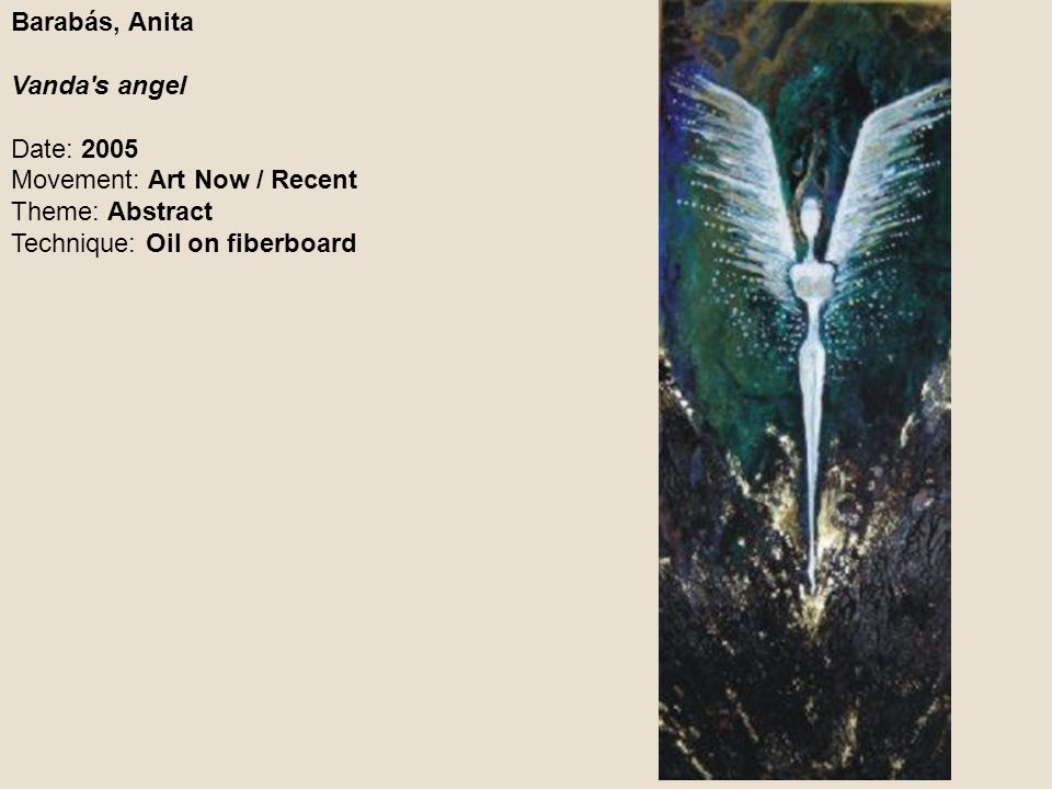 Barabás, Anita Vanda s angel.
