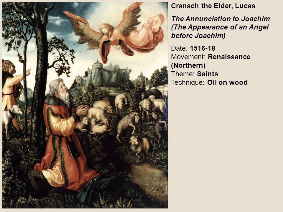 Cranach the Elder, Lucas