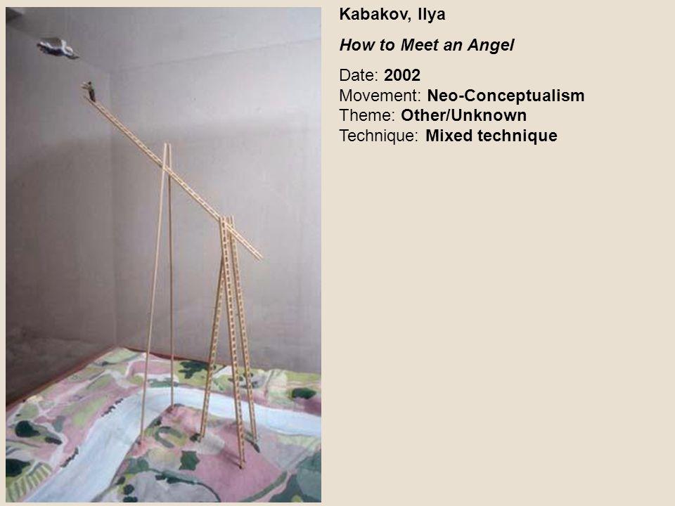 Kabakov, Ilya How to Meet an Angel.