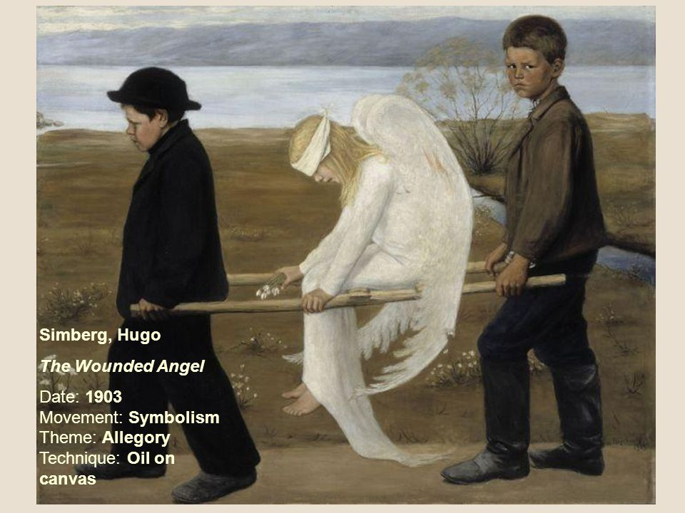 Simberg, Hugo The Wounded Angel.
