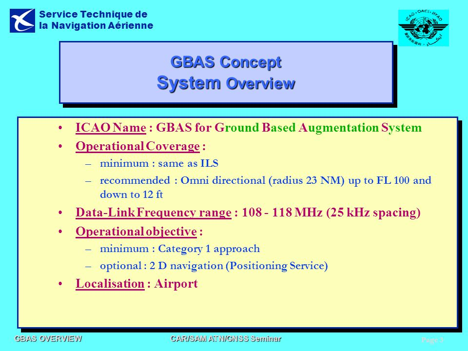 GBAS Concept System Overview