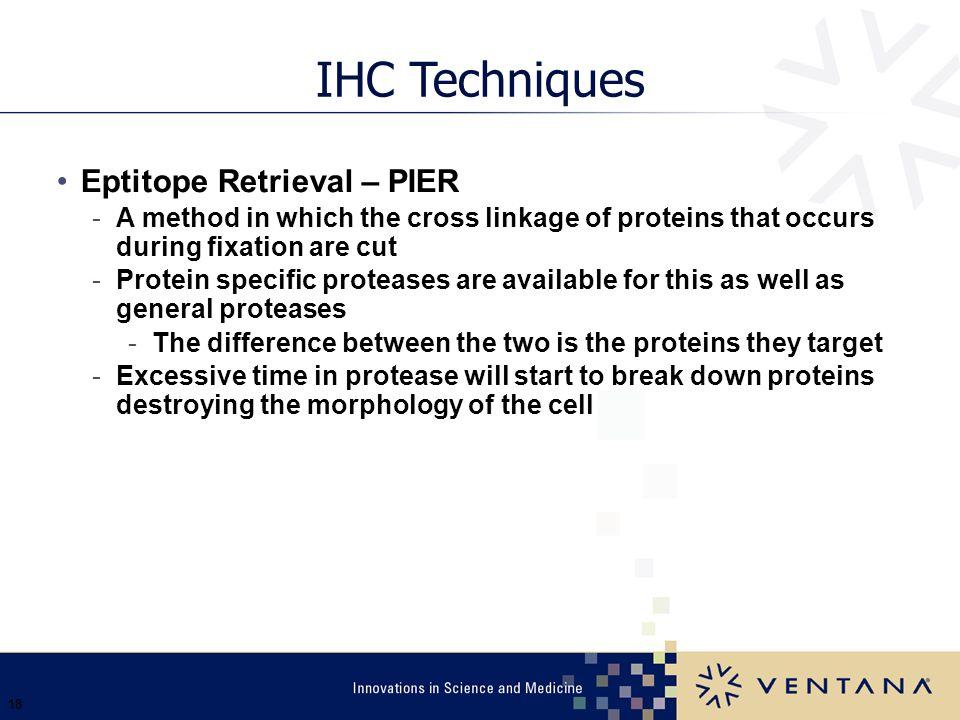 IHC Techniques Eptitope Retrieval – PIER