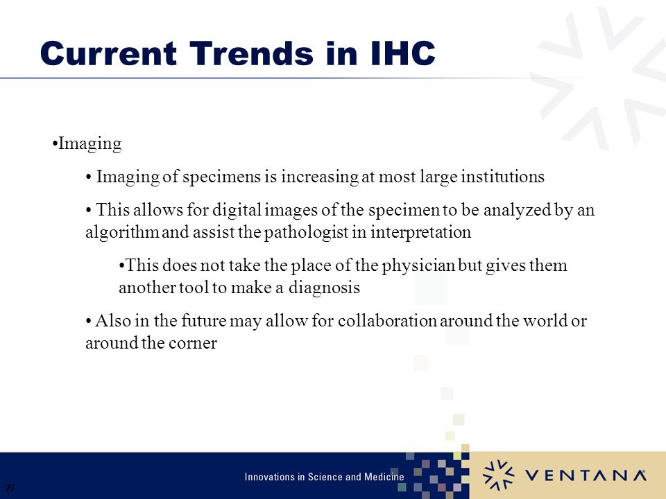 Current Trends in IHC Imaging