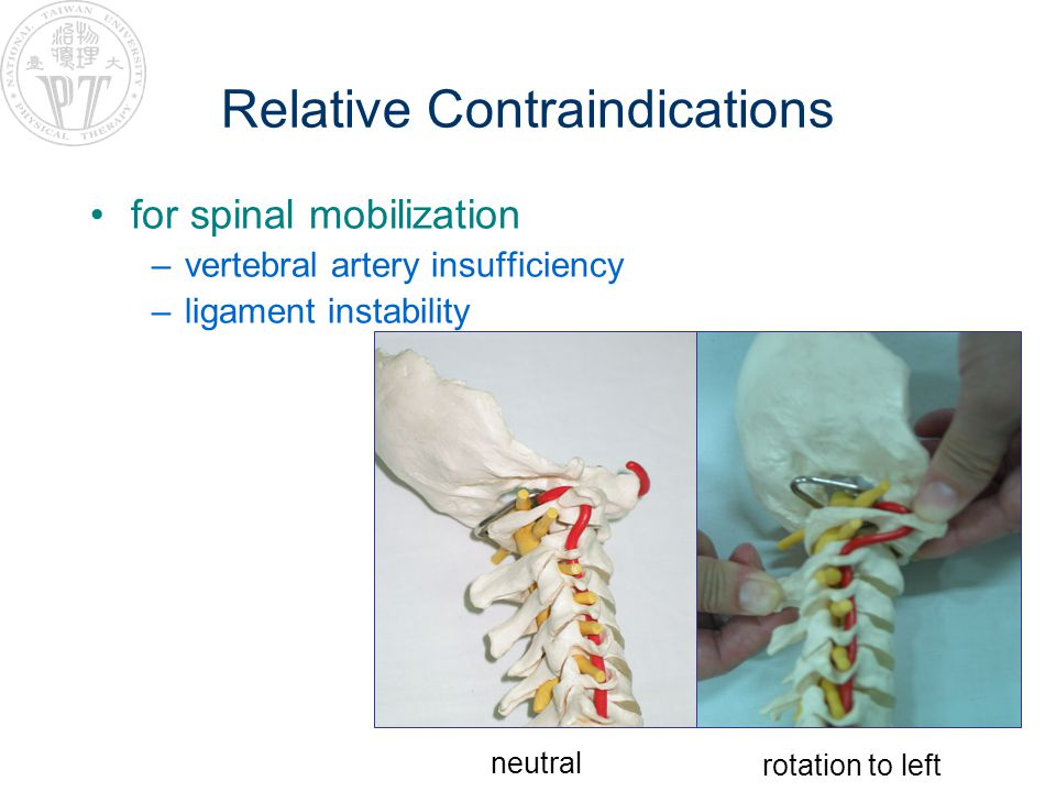 Relative Contraindications