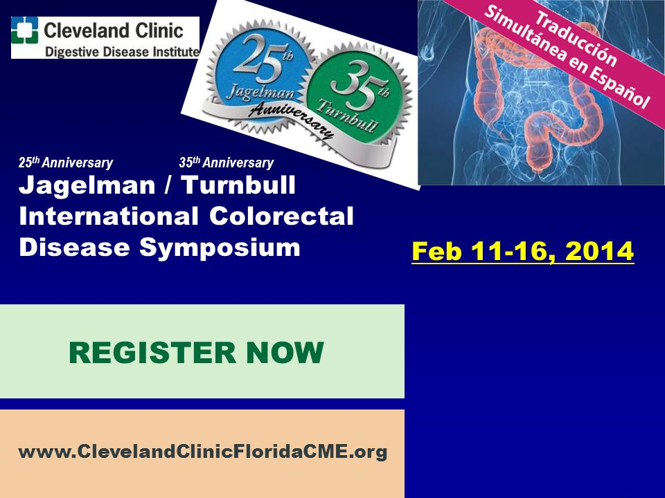 Jagelman / Turnbull International Colorectal Disease Symposium