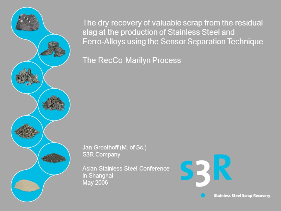 Ferro-Alloys using the Sensor Separation Technique.