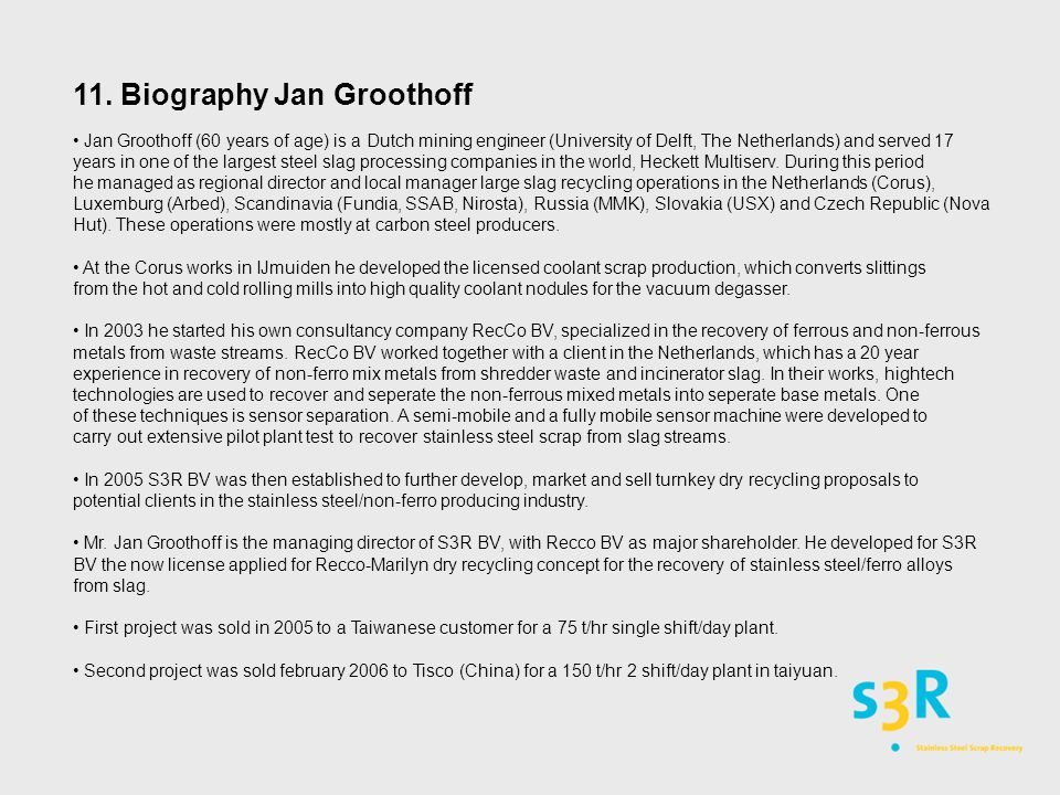 11. Biography Jan Groothoff