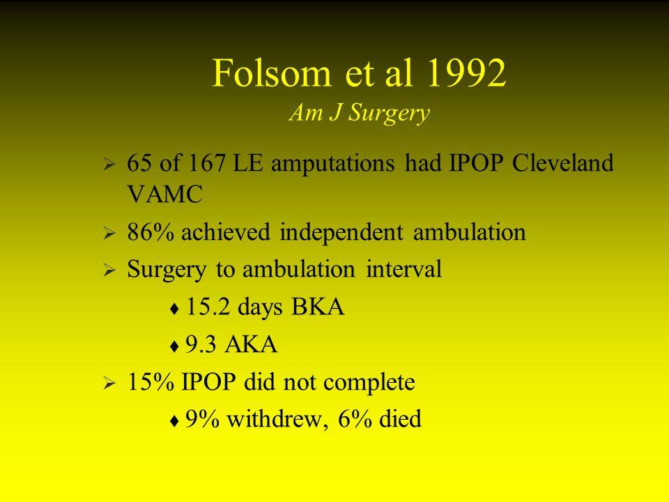 Folsom et al 1992 Am J Surgery