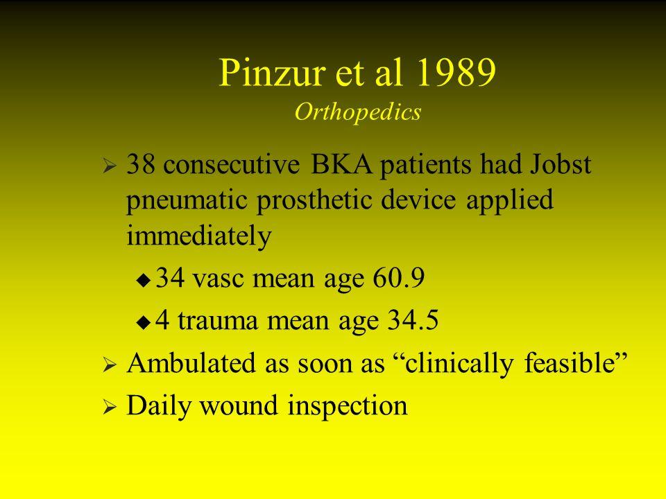 Pinzur et al 1989 Orthopedics