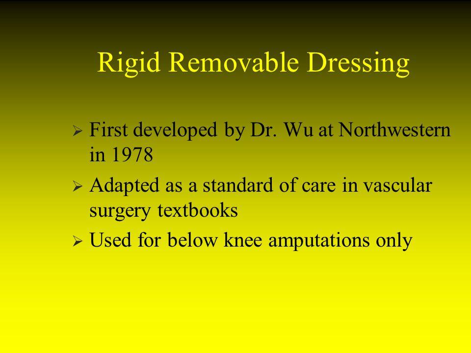Rigid Removable Dressing
