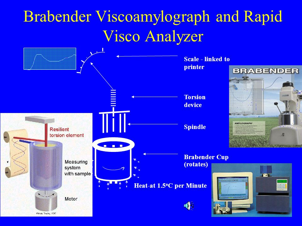 Brabender Viscoamylograph and Rapid Visco Analyzer