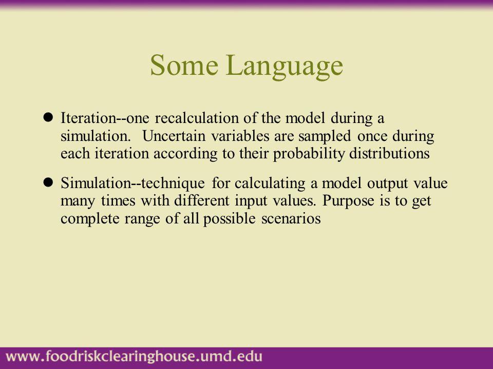 Some Language