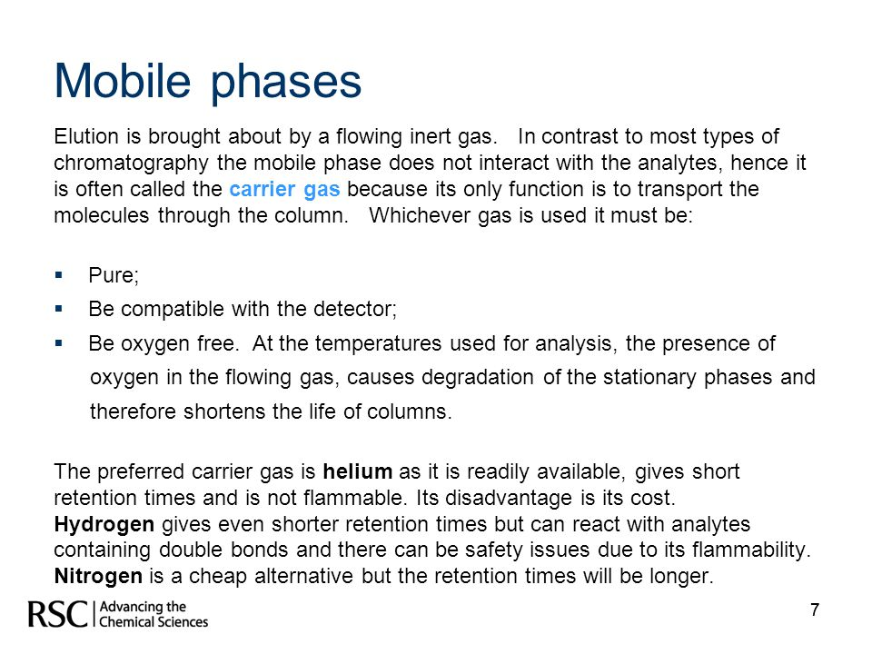 Mobile phases