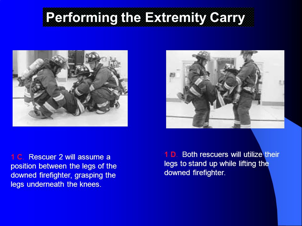 Performing the Extremity Carry