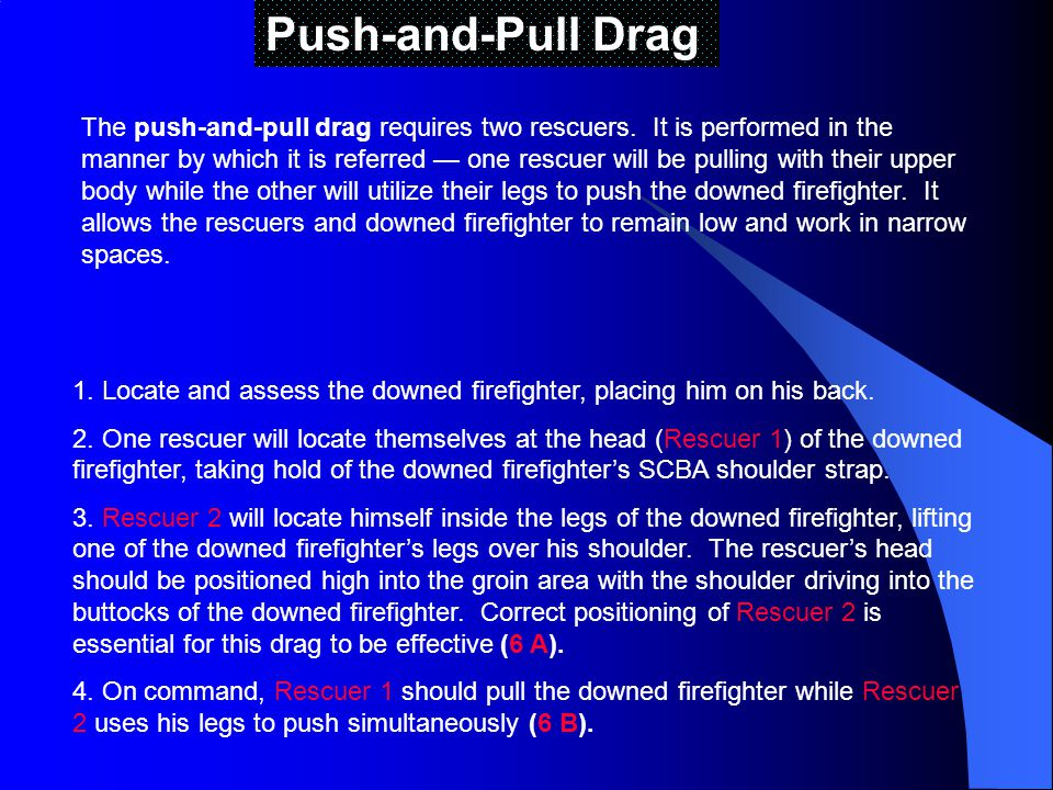 Push-and-Pull Drag