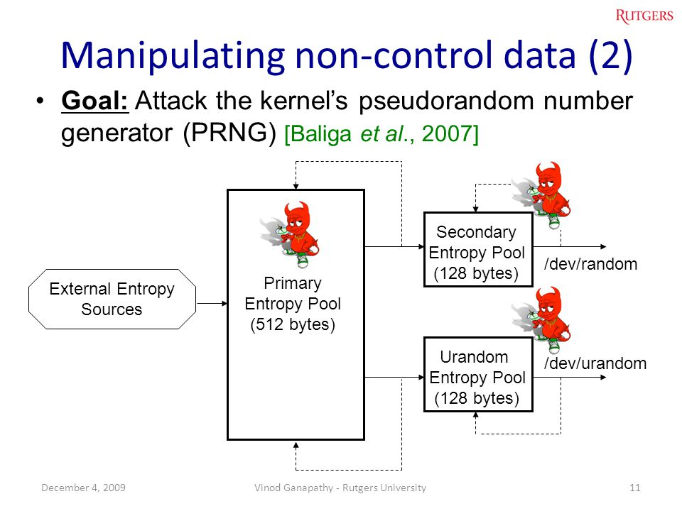 Manipulating non-control data (2)