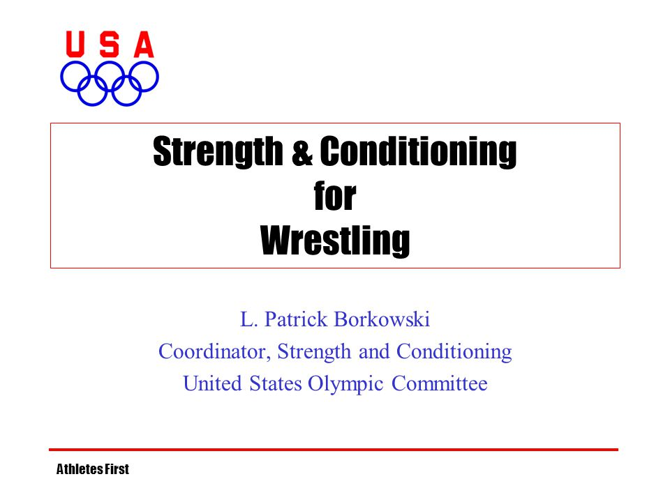 Strength & Conditioning for Wrestling