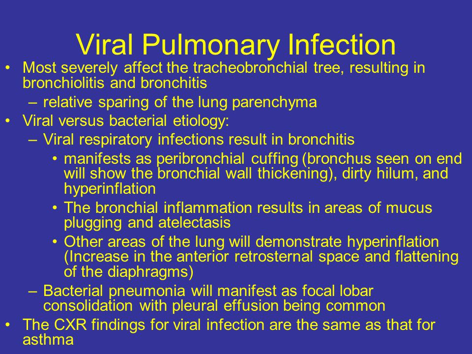 Viral Pulmonary Infection