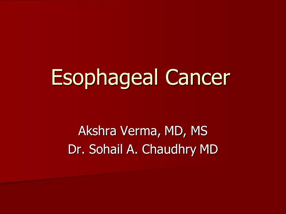 Akshra Verma, MD, MS Dr. Sohail A. Chaudhry MD