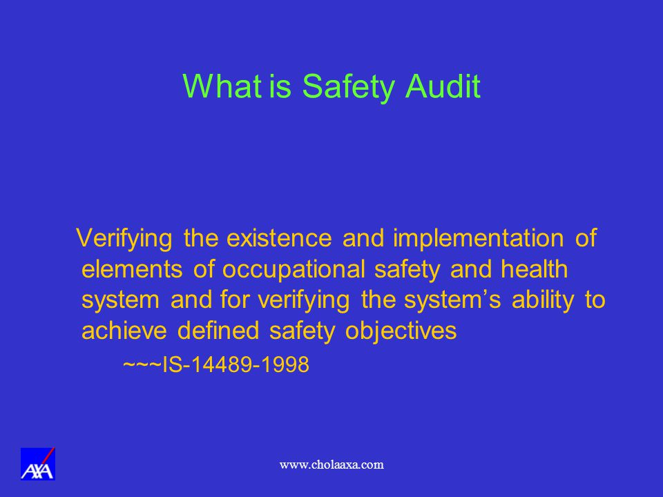 What is Safety Audit