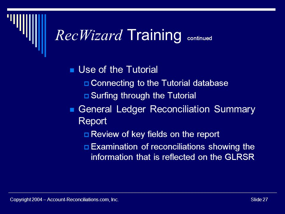 RecWizard Training continued