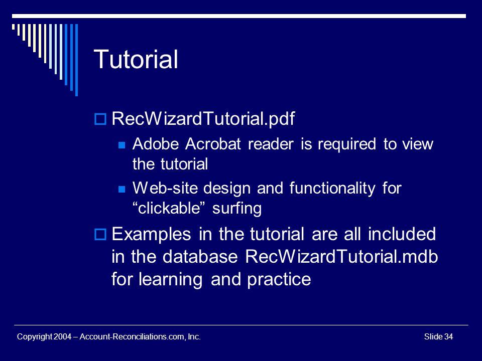 Tutorial RecWizardTutorial.pdf