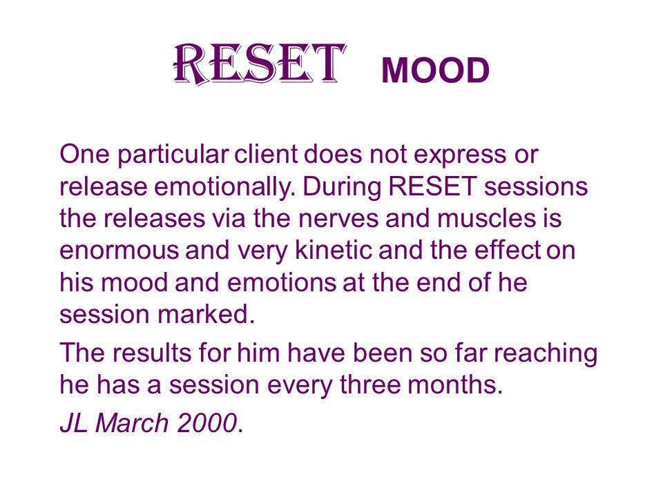 RESET MOOD