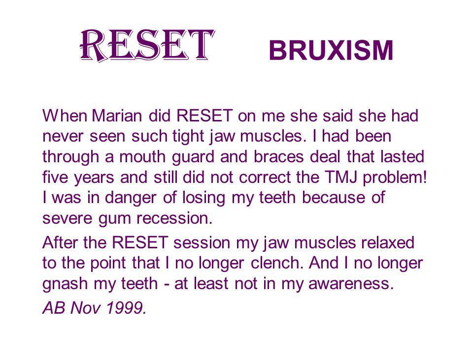 RESET BRUXISM
