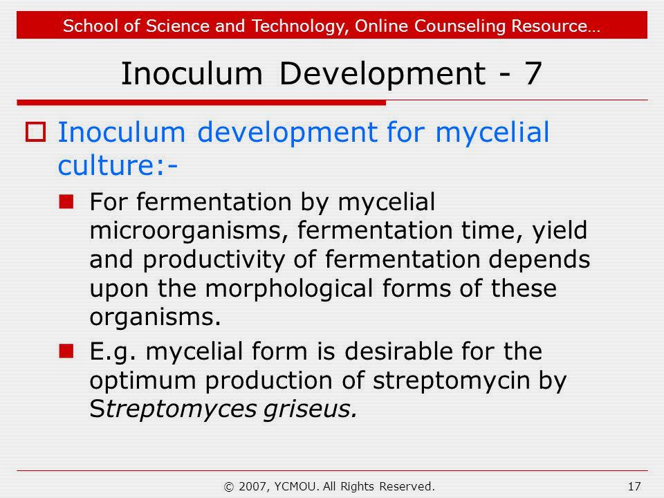 Inoculum Development - 7