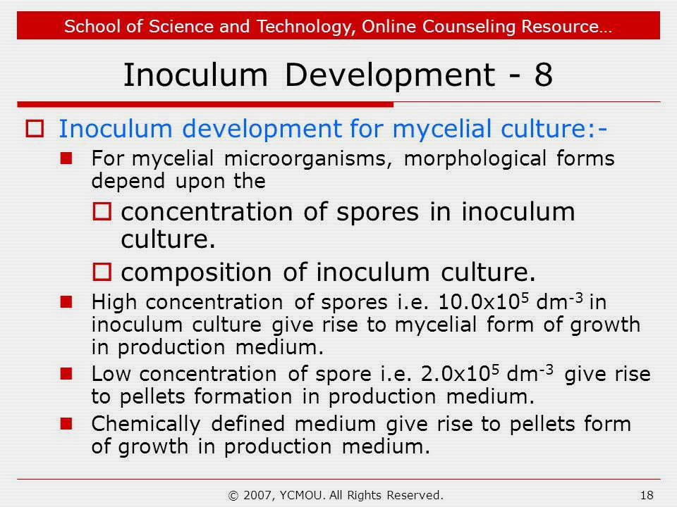 Inoculum Development - 8