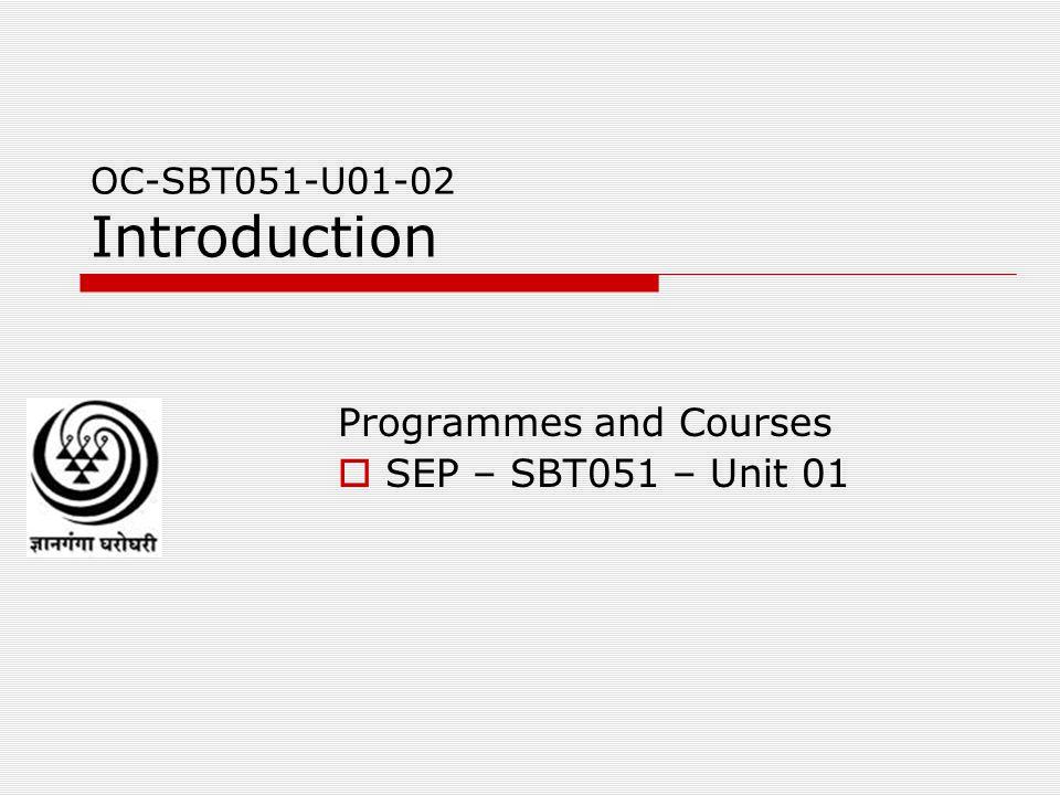 OC-SBT051-U01-02 Introduction