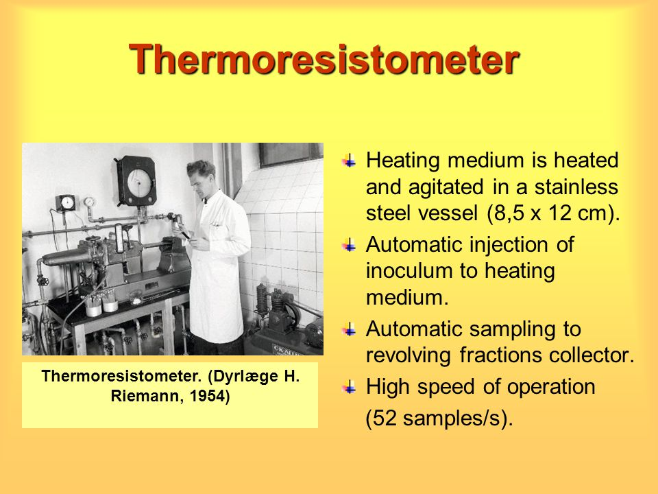 Thermoresistometer. (Dyrlæge H. Riemann, 1954)