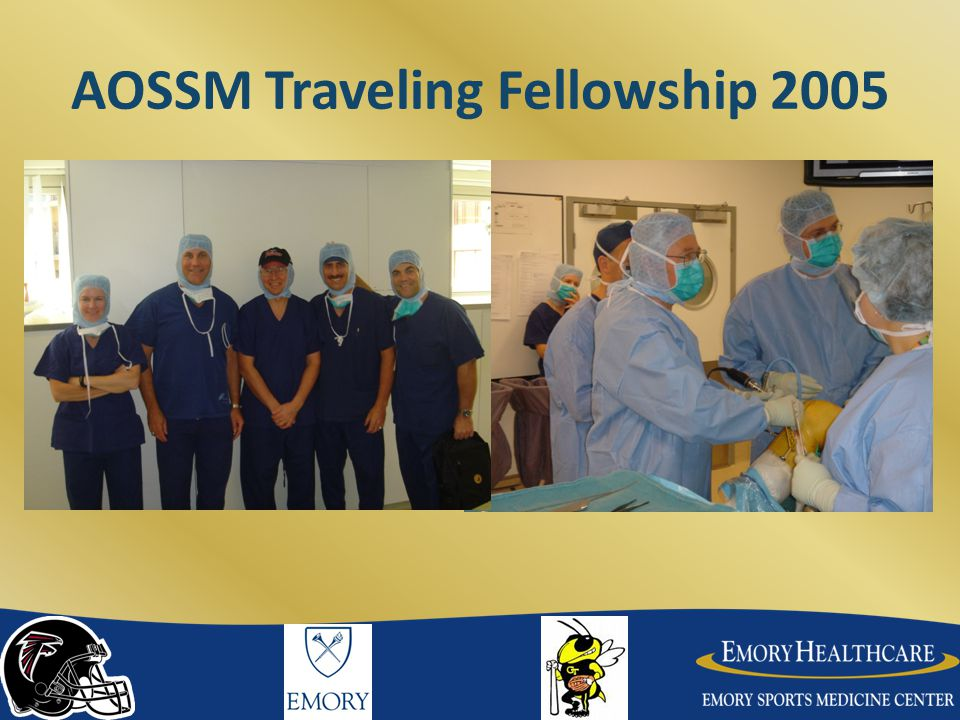 AOSSM Traveling Fellowship 2005