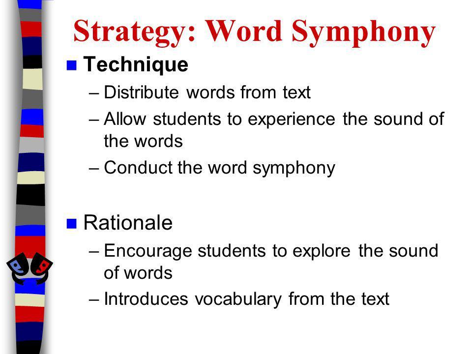 Strategy: Word Symphony