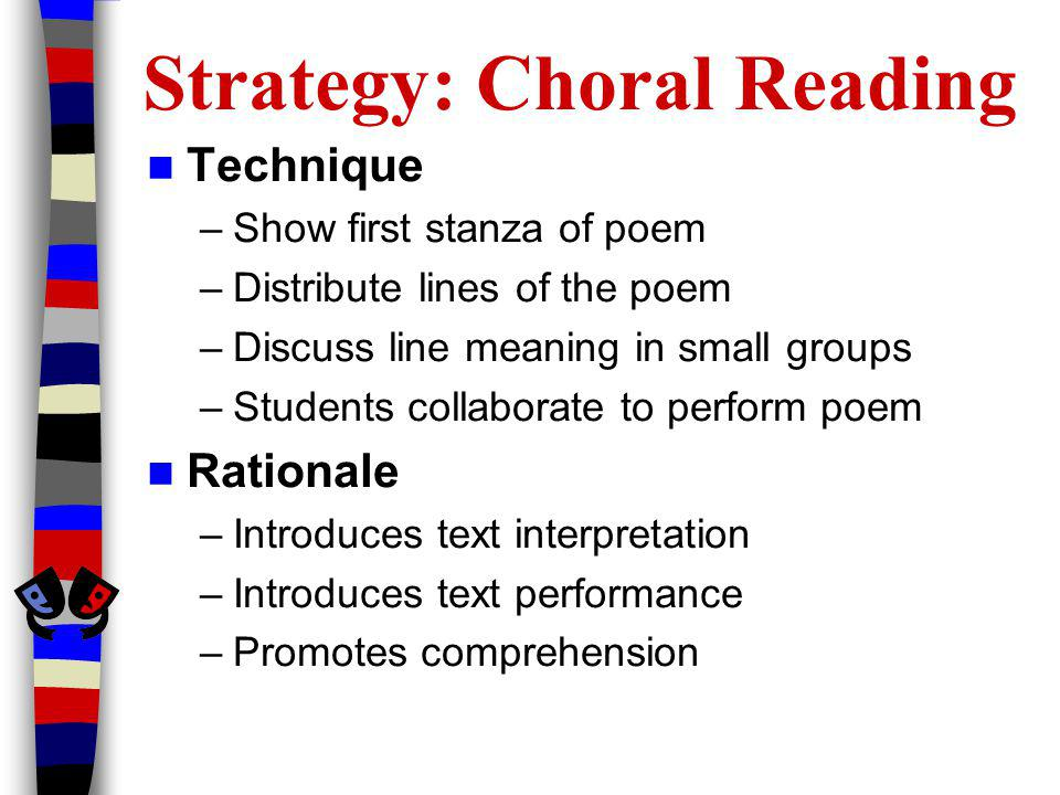Strategy: Choral Reading