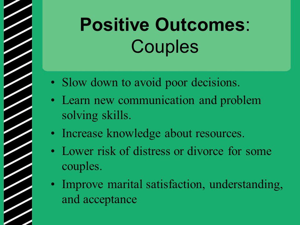 Positive Outcomes: Couples