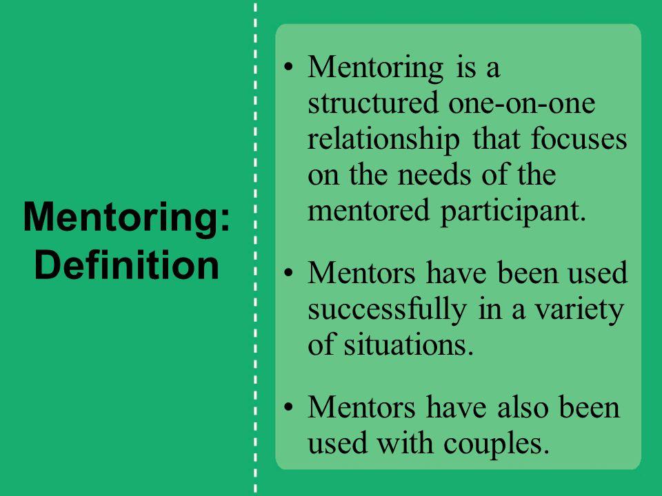 Mentoring: Definition